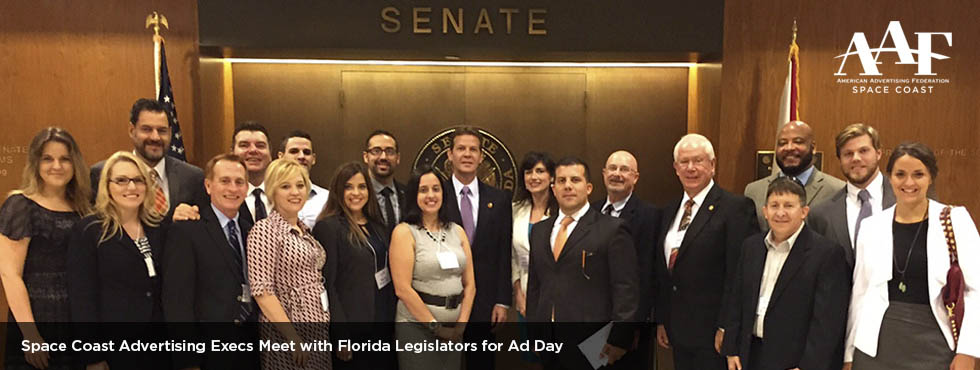 Space Coast Ad Execs in Tallahassee for Ad Day